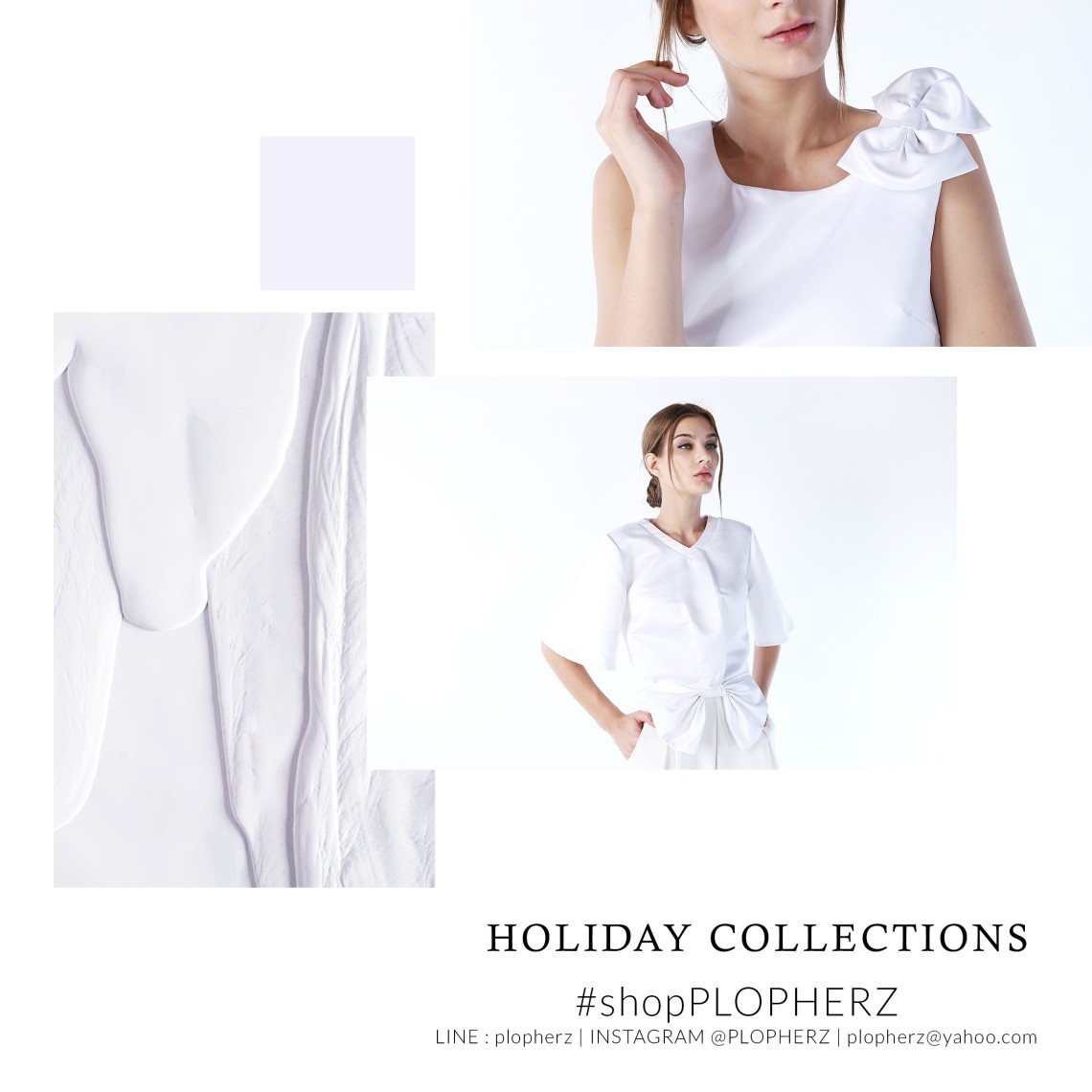 holiday collections moodboard WHITE